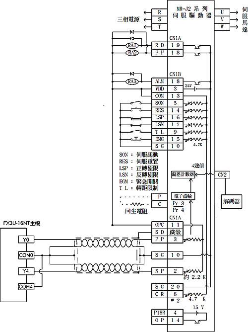 起保停电路接线图plc